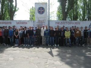 екскурсія у військову частину 025